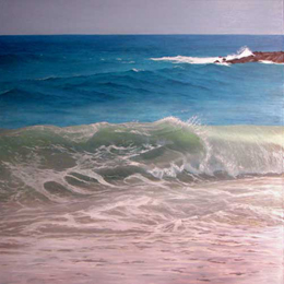 Breaking Wave 30 x 30